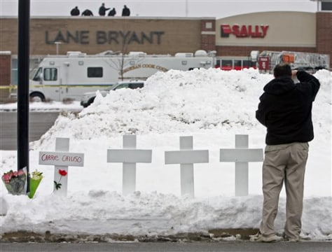IMAGE: CROSSES FOR DEAD VICTIMS