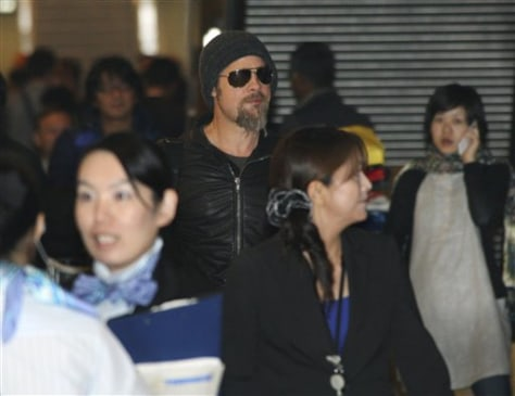 Japan Brad Pitt