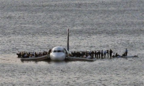 Image: Hudson River landing