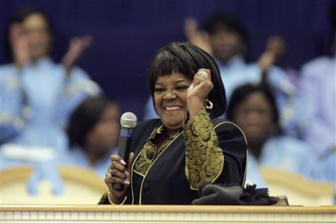 Image: Dr. Shirley Caesar-Williams