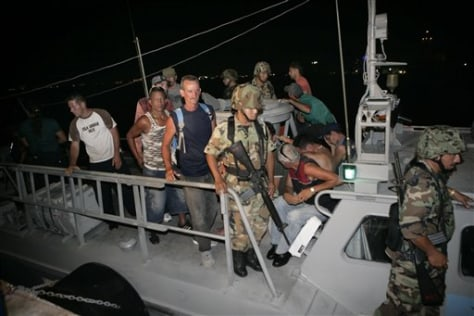 IMAGE: ARRESTED CUBANS