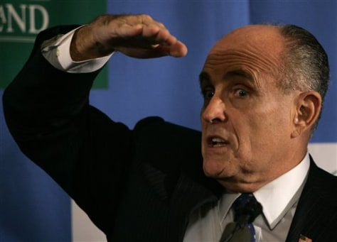 IMAGE: Former New York City Mayor Rudy Giuliani