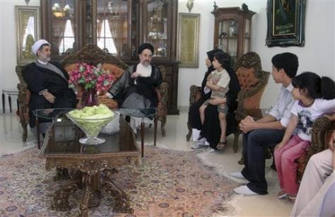 Image: Former Iranian President Khatami
