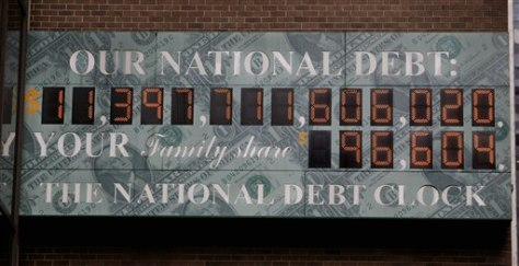 Image: National debt clock
