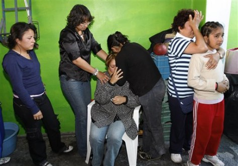 Image: Mexico nightclub deaths