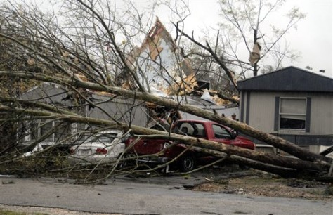 Image: Arkansas storm