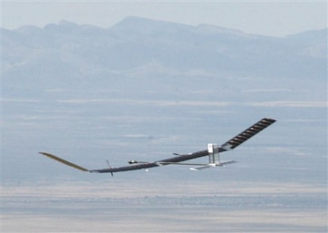 Image: Solar plane