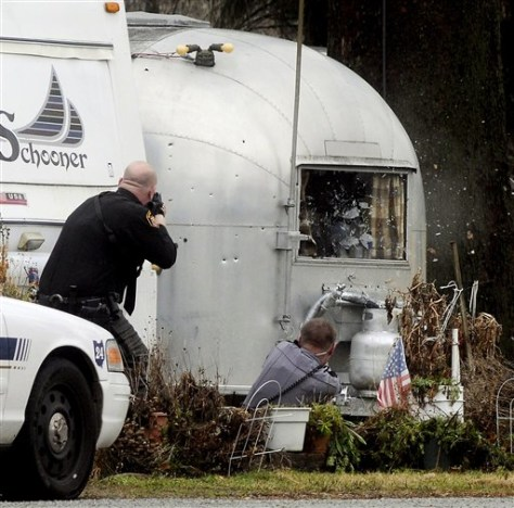 Image: Ohio trailer park shooting