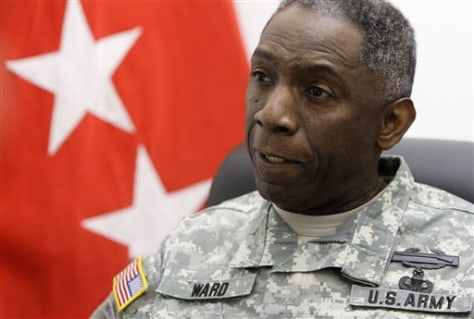 "Image: Army Gen. William ""Kip"" Ward"