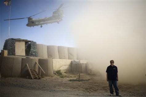 Image: U.S. contractor in Afghanistan