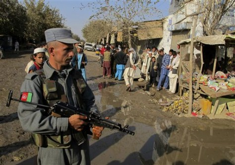 Image: Afghan blast