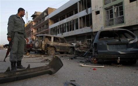 Image: Explosion damage