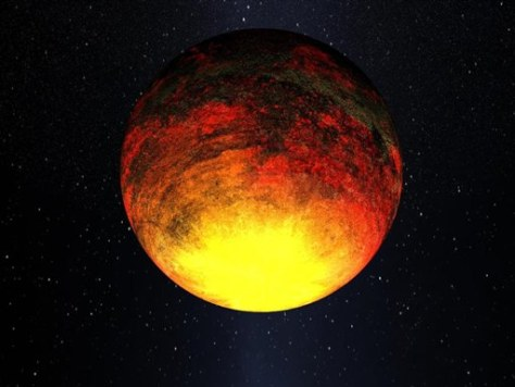 Image: Artist's rendering of planet