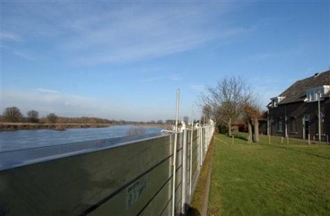 flood barrier in Netherlands