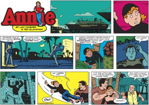 Image: Annie comic strip