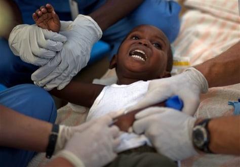 Cholera Death Toll In Haiti Tops Health Infectious - Crystal city topix