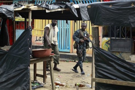 Image: Soldiers loyal to Alassane Ouattara in Abidjan, Ivory Coast