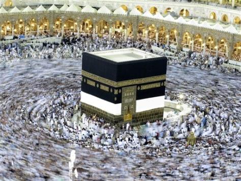 Muslims take new Mecca Metro to hajj sites - World news - Mideast/N