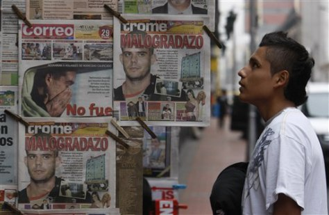 Image: Peru newspapers