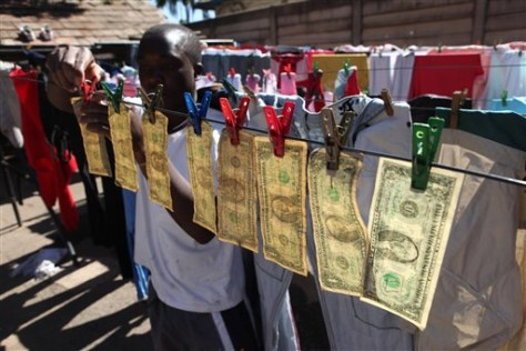 Dollars drying in Harare, Zimbabwe