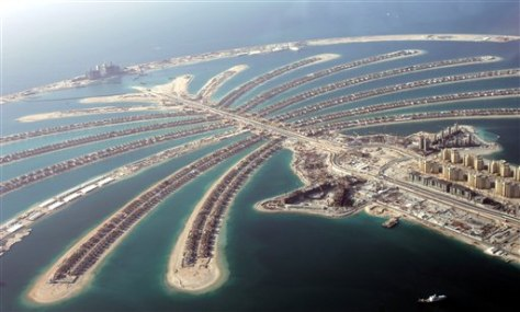 EMIRATES DUBAI PALM ISLAND FIRE
