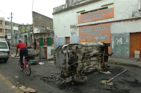 Iamge: French Caribbean unrest