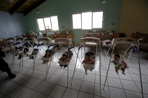 IMAGE: BABIES WAITING TO BE ADOPTED