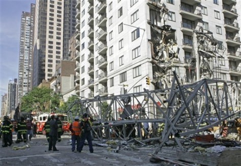 Image: Crane collapse