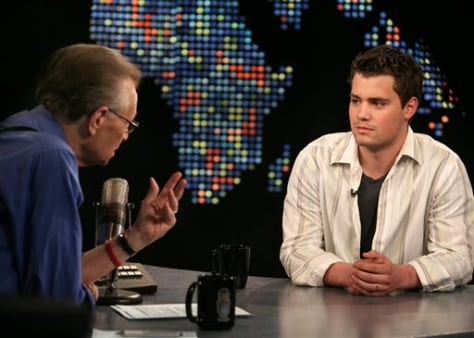 Image: Larry King and Levi Johnston