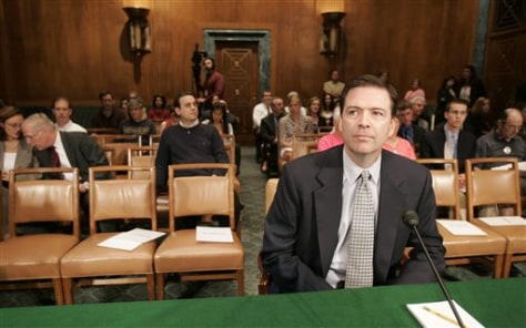 IMAGE: Former Deputy Attorney General James Comey