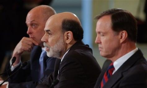 Image: Paulson, Bernanke, Cox