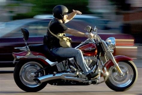 Image: Harley rider