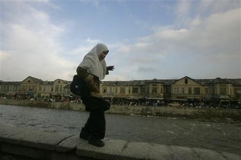 Image: An Afghan girl