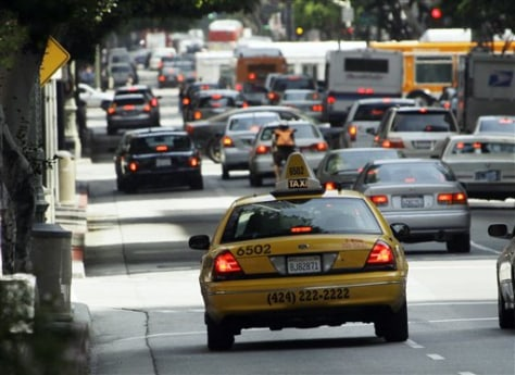 Image: Taxi in Los Angeles
