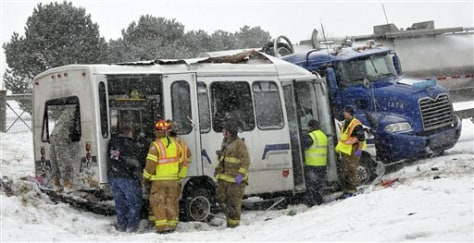 Image: Ohio highway crash