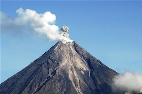 Image: Philippines volcano