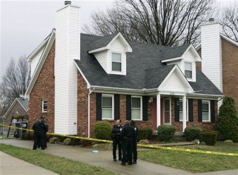 Image: Scene of slayings