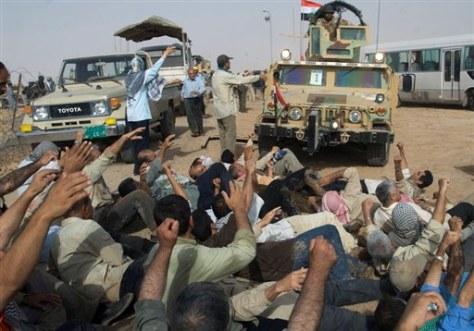 Image: Iranian exiles' camp