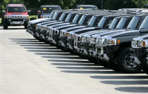 Image: Hummers for sale
