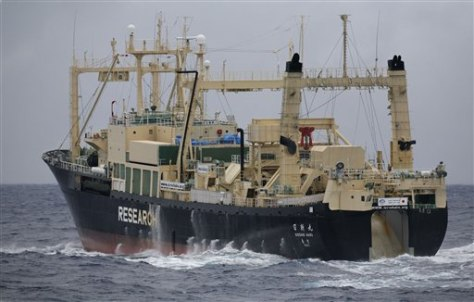 IMAGE: JAPANESE WHALING SHIP