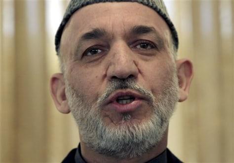 Image: Karzai