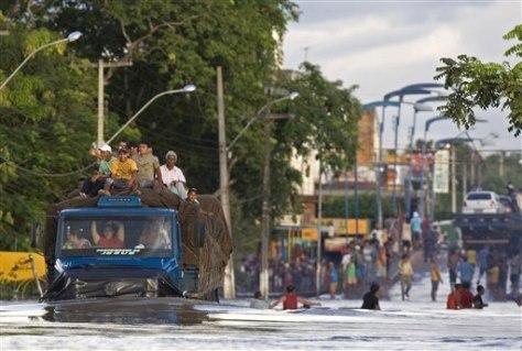 Image: Brazilian floods