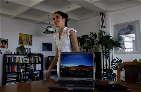 image: Cuba Dissident Blogger