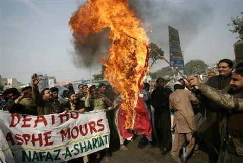 Image: Pakistan protest