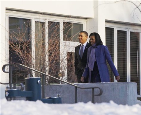 Image: President Barack Obama and first lady Michelle Obama.