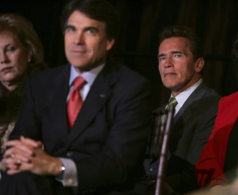 Govs. Rick Perry and Arnold Schwarzenegger