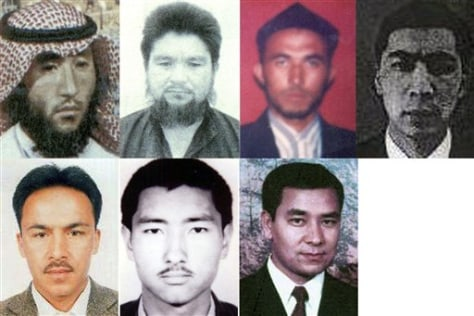 Image: China terror suspects