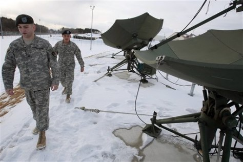 IMAGE: ANTENNA NETWORK AT GROUND STATION