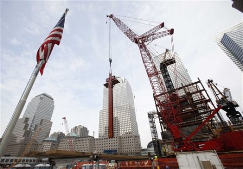 Image: Construction at One World Trade Center