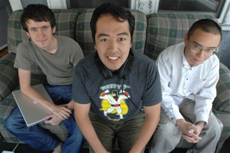 Image: Popcuts founders